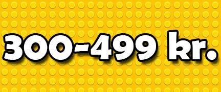 LEGO 300-499 Kr.