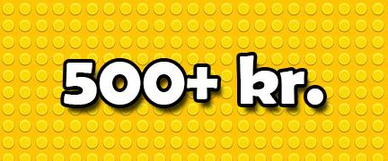LEGO 500+ Kr.