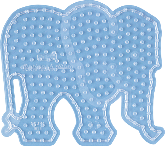 Hama Maxi Pärlplatta Elefant (8201) - hama (pärlor)  71865c89e65e2