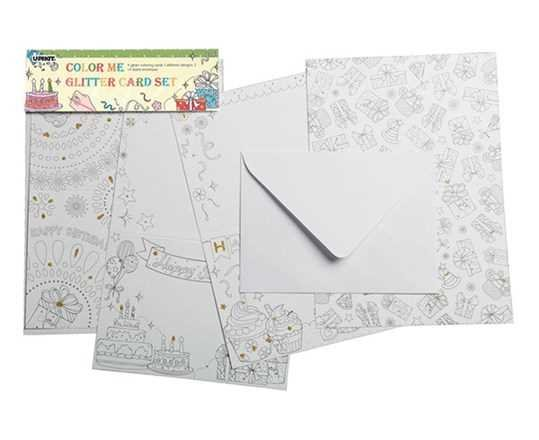 473e05e98f15 Color Me Card - Birthday (260242) - kreativ hobby   MIDhobby.no