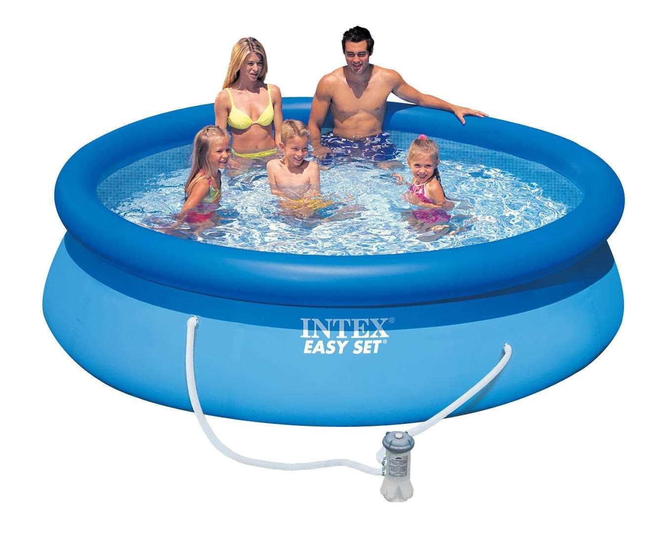 Vellidte Intex Easy Set Pool 305cm inkl. filter og pumpe (28122) | MIDhobby.dk NL-67
