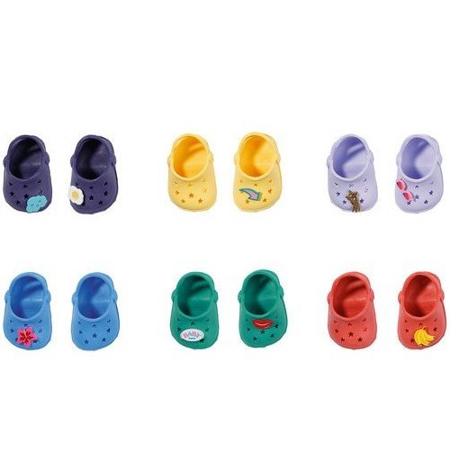 Baby Born, clogs, 1 par, 43 cm