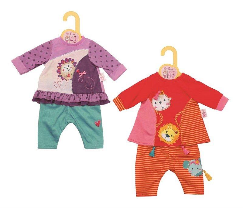 Baby Born, Dolly Moda sommerkjole m leggings, 1 sæt, 43 cm