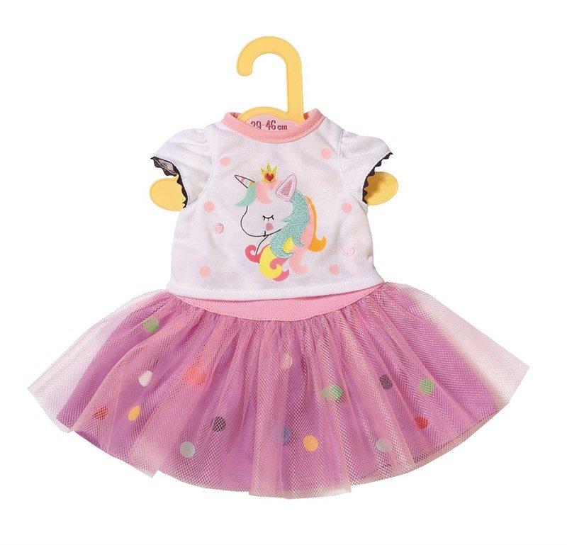 Baby Born, Dolly Moda t shirt og tylskørt, 43 cm