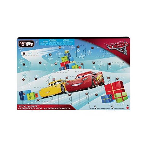 Cars 3 Mattel Julekalender