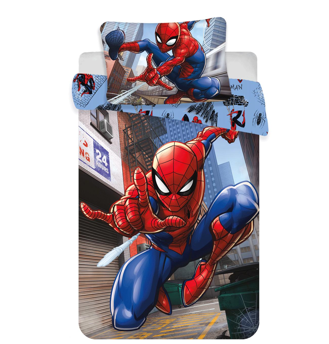 Picture of: Spider Man Sengetoj Junior 1000266 Spiderman Midhobby Dk