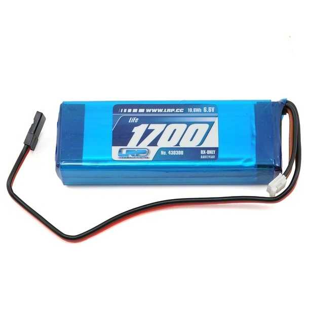 Lrp Vtec Lifepo RxPack 23A Straight 1700 Rx Only 66V